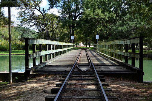 Train Track, Bridge, Overpass, Children's Train