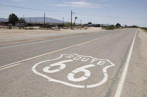 Usa, California, Road Trip, Route 66, Motorcycle Tour