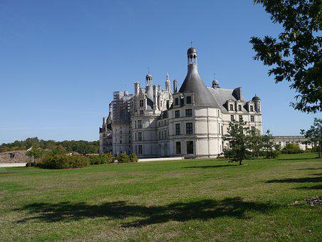 Chambord, Outside, Castle, François 1er