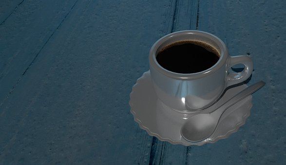 Coffee, Teacup, Cafe, A Cup Of Coffee, Saucer