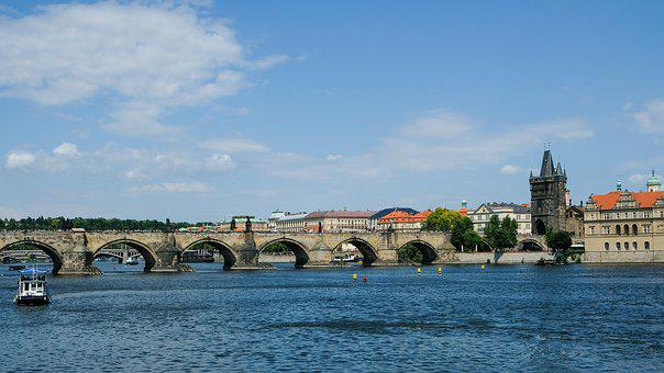 Prague, Moldova, Czech Republic, Charles Bridge