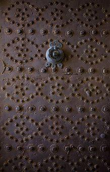 Door, Monastery, Architecture, Iron Doors, Mardin