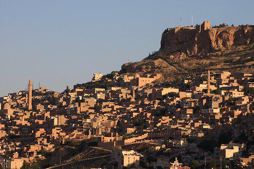 Mardin, Sunrise, Historical City, Turkey, Architecture