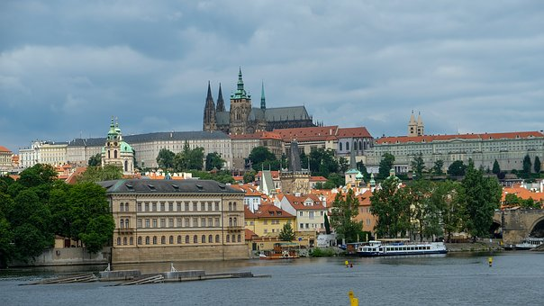 Prague, Praha, Moldova, Czech Republic, Prague Castle