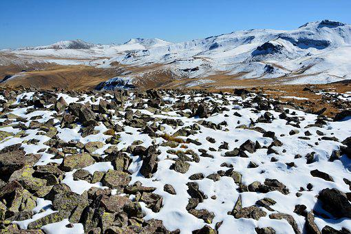 Turkey, Nature, Snow, Landscape, Kaçkars