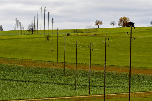 Mast, Strommast, Current, Power Line, Energy, Line
