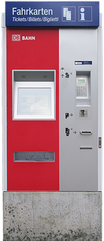 Ticket Machine, Ticket Vending Machine