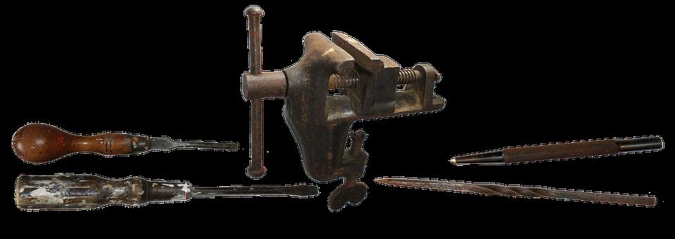 Tools, Workshop, Equipment, Vice, Metal, Service