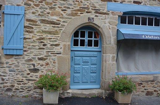 Door Wood, Round Door Wood, Carved Door