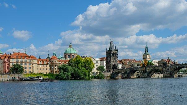Prague, Charles Bridge, Moldova, Praha, Czech Republic