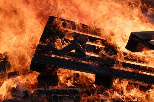 Fire, Flame, Burn, Hot, Heat, Embers, Glow, Bright