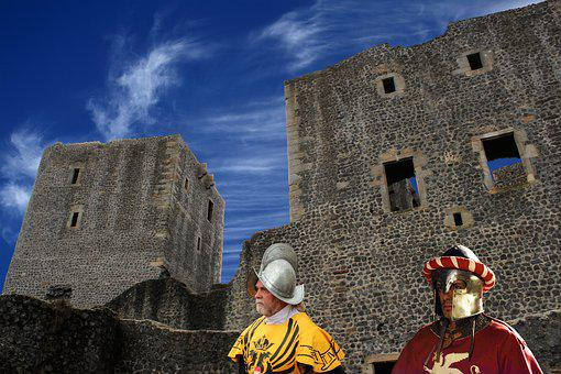 Castle, Old, Middle Ages, Fortress, Places Of Interest