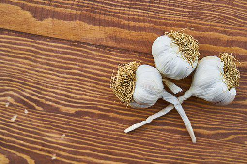 Garlic, Health, White, Beautiful, Food Photo
