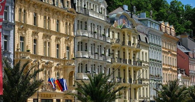 Karlovy Vary, Old Town, Karlovy-vary, Czech Republic