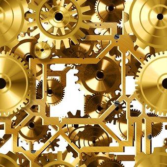Cogs, Gears, Tiling, Cogwheel, Mechanism, Industrial