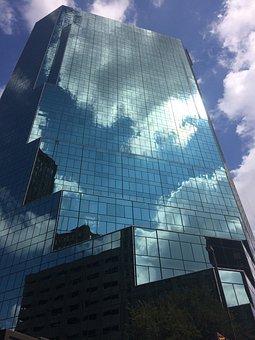 Glass Items, Skyscraper, Office, Architecture, Business