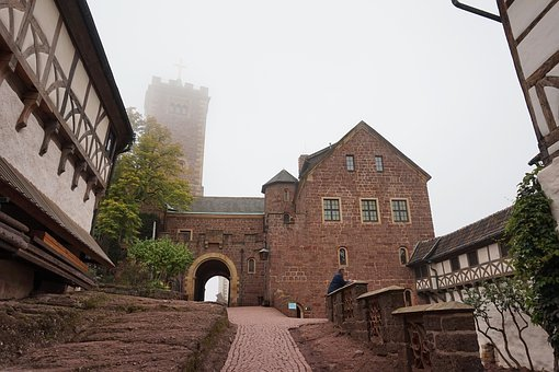 Germany, Eisenach, Fortress, City, Tourism, Sights