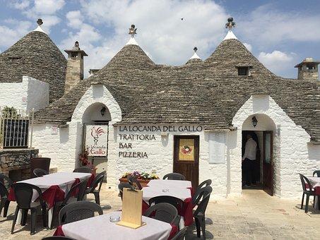 Puglia, Restaurant, Trulli