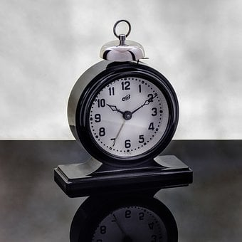 Alarm Clock, Time, Arrows, Dial, Vintage, Clock, Call