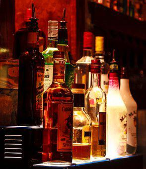 Bar, Liquor, Bottles, Whiskey, Alcohol, Drink, Beverage