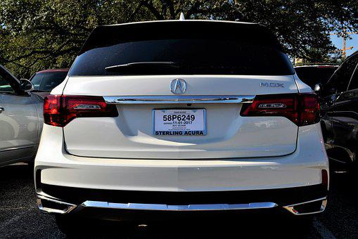 Acura Rear, Break Lights, Hatchback, Exhaust Pipes