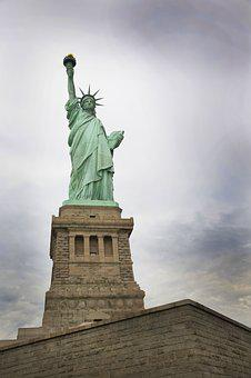 Lady Liberty, Statue Of Liberty, Freedom, Usa, America