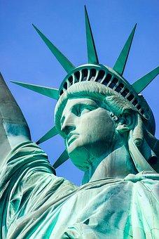 Statue Of Liberty, America, Usa, Liberty, Statue