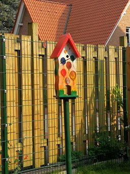 Nesting Box, Bird Feeder, Feeding Place