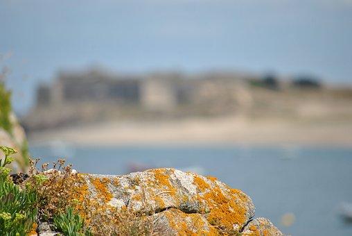 Brittany, Sea, Rock, Shore