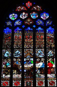 Stained Glass Windows, Church, Heritage, Religion