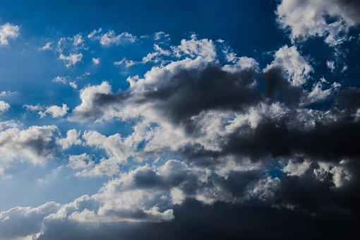 Sky, Clouds, Blue Sky Clouds, Autumn, Weather