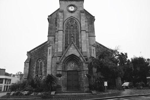 Church, Portal, Brittany, Architecture, Heritage