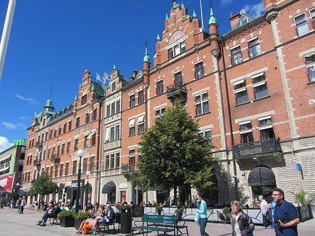 Sweden, Market, City, Tourism, Old Town, Historically