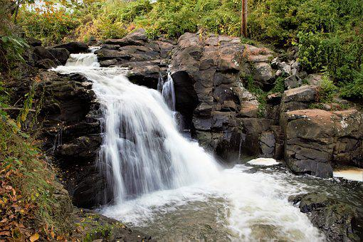 Water, Waterfall, River, Stream, Nature, Outdoor