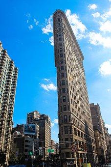 Flatiron Building, Nyc, City, Usa, Manhattan, Building