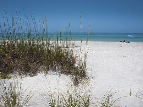 Beach, Sand, Dunes, Ocean, Summer, Sea, Vacation, Water