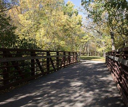 Bridge, Nature, Park, Outdoor, Scenic, Path