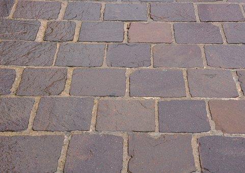Pavers, Stones, Soil, City Centre, Road Pavers, Antique