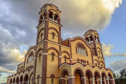Cyprus, Paralimni, Church, Architecture, Religion