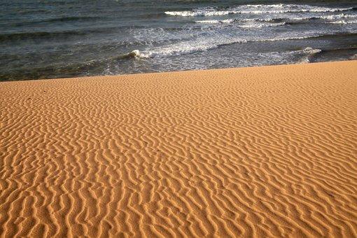 Desert, Guajira, Sand