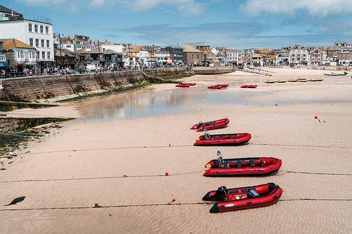 St Ives, Cornwall, England, English, British, Summer