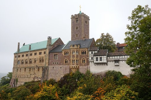Germany, Eisenach, The Fortress Of Wartburg, Tourism