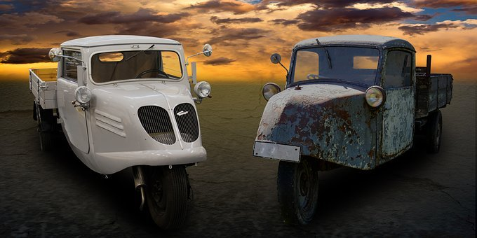 Traffic, Transport, Vehicle, Oldtimer, Truck, Speed
