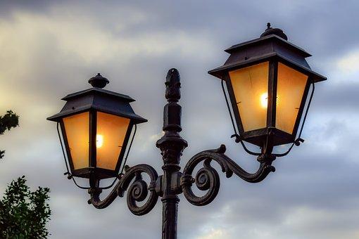 Lamp, Lantern, Light, Design, Decoration, Vintage