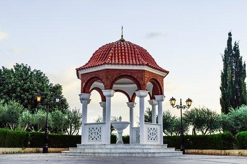 Cyprus, Paralimni, Ayios Dimitrios, Church, Orthodox