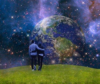 Earth, Blue Planet, Globe, Gaia, Planet, Human