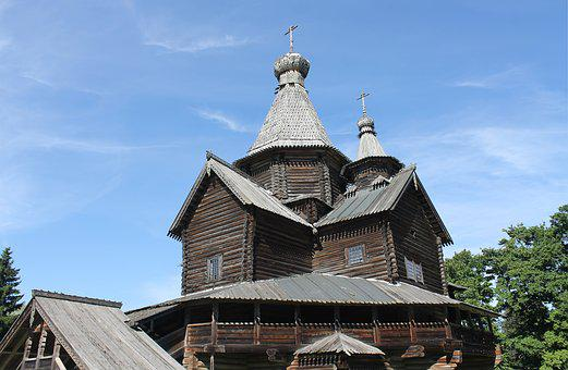 Wooden Architecture, Veliky Novgorod, Church, Antiquity