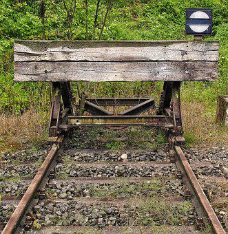Brake Buffer Stop, Buffer Stop, End Of Track