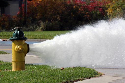 Hydrant, Fire Plug, Vented, Flushing, Flush, Water