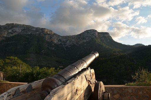 Gun, Mountains, Historically, Rocky, Building